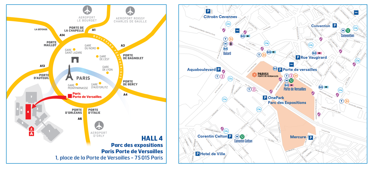 Salon rexel expo paris 2017 inscription au salon de for Porte de versailles salon parking